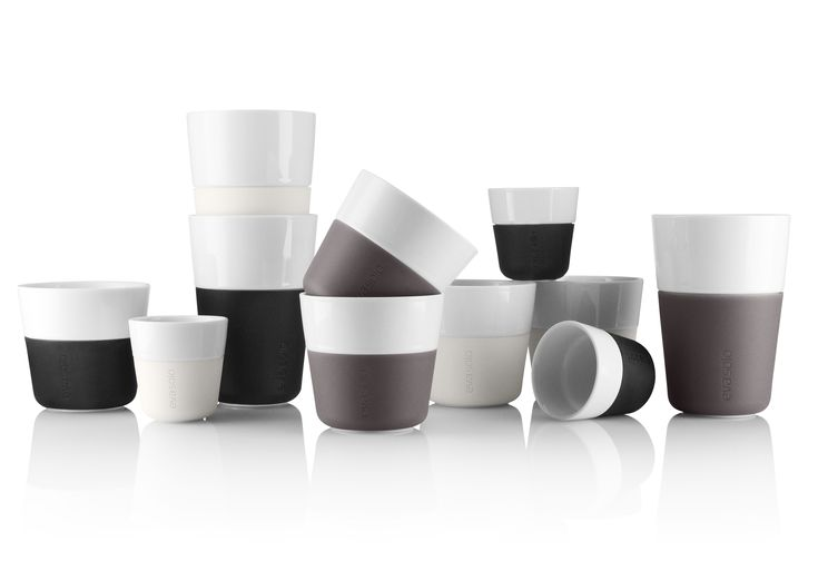 EVA SOLO Coffe mugs - Cafe Latte, Lungo & Espresso