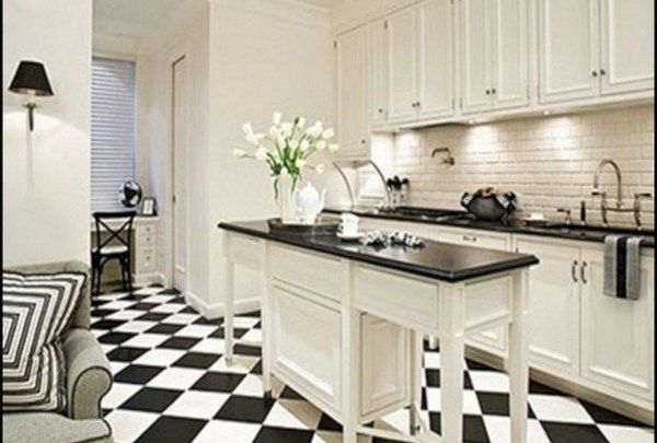 30 Lovely Tiny House Kitchen Storage Ideas Black White Kitchen