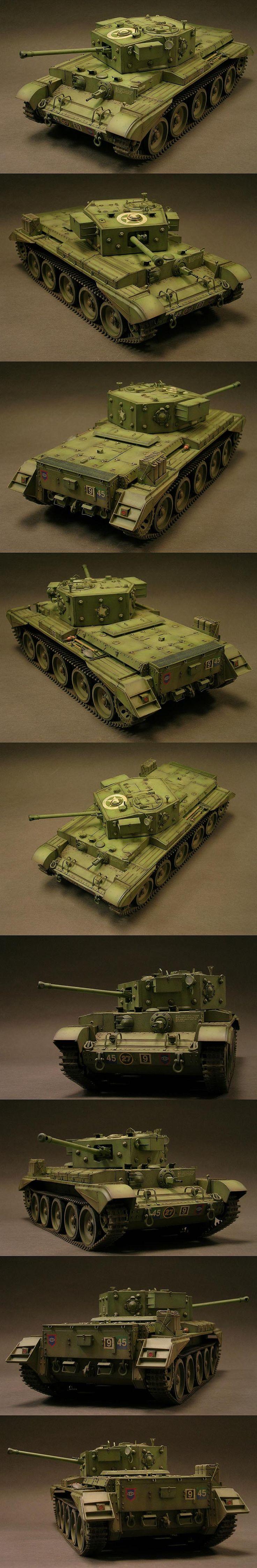 Cromwell Mk. IV 1/35 Scale Model