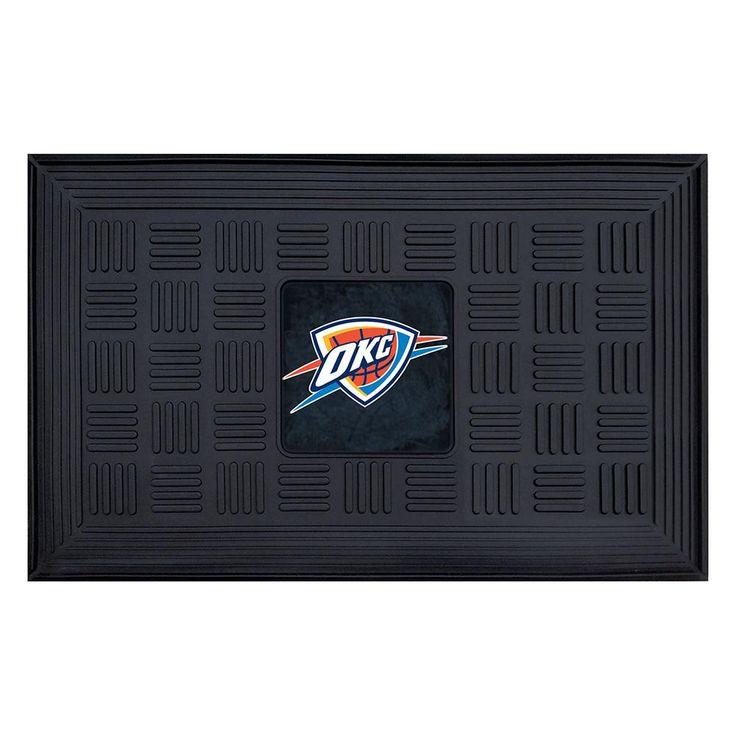 Oklahoma City Thunder NBA Vinyl Doormat (19x30)