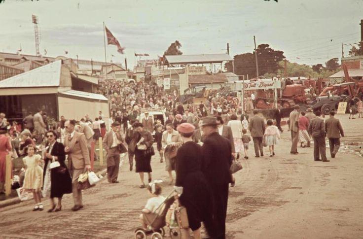 'Grand Boulevard', Royal Melbourne Show, Ascot Vale, 1956 - Museum Victoria