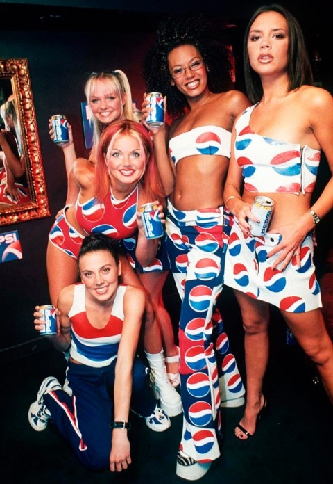 Spice Girls.  I grew up in the 90's with two sisters.  We loved them and we always will.