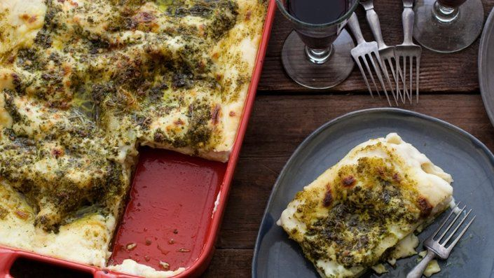 You'll find the ultimate Debi Mazar and Gabriele Corcos Pesto Lasagne recipe and even more incredible feasts waiting to be devoured right here on Food Network UK.