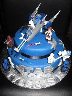 Birthday Cake: Star Wars Lego Birthday Cakes
