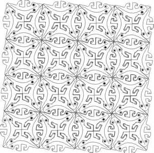 Mc escher printable tessellations coloring pages sketch for Escher coloring pages