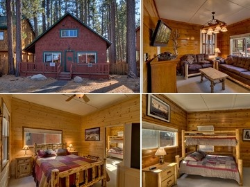 Al tahoe cabin rental cozy family cabin great location for South lake tahoe cabins near casinos