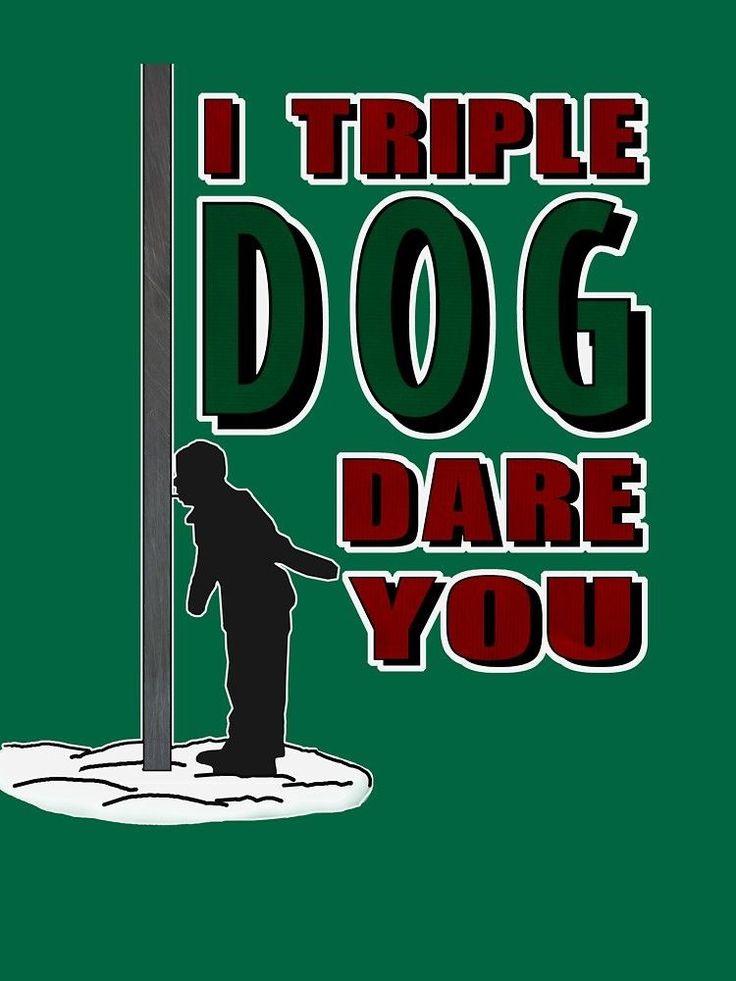 Christmas flag pole i triple dog dare you by oldskool0482