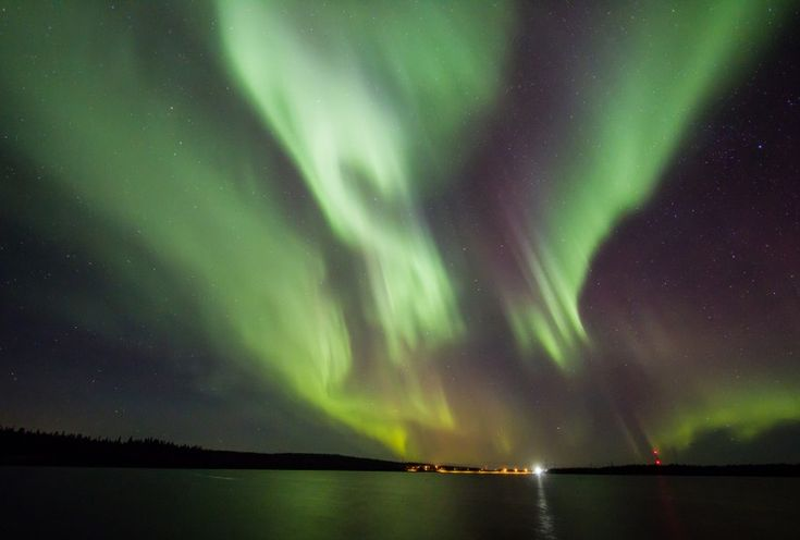 Northern Lights in Pello, Western Lapland