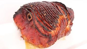 Thanksgiving Day BROWN SUGAR & HONEY GLAZED BAKED HAM - How to BAKE A GLAZED HAM Recipe - YouTube