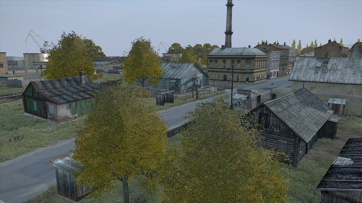 The crazy town of Berezino in DayZ Standalone #DayZ with Pitstop Head