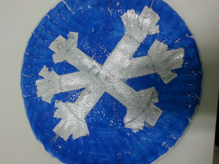 Winter Snowflake Craft