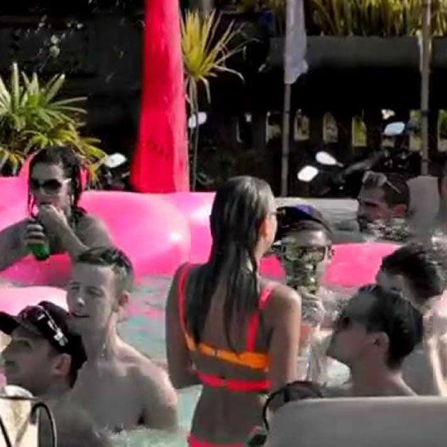 VIP for SPLASH is getting close to fully booked for this Sunday. email reservations@cocoon-beach.com to reserve your Cabana or Daybed with full bottle service.