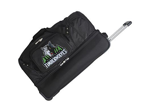 NBA Minnesota Timberwolves Rolling DropBottom Duffel *** Want additional info? Click on the image.