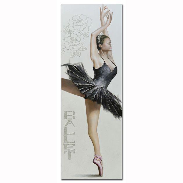 Πίνακας Μπαλαρίνα με μαύρο φόρεμα (2) http://www.lovedeco.gr/p.Pinakas-Mpalarina-me-mayro-forema-2.905255.html