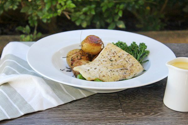 Grilled Barramundi with Lemon Butter - Best Chef Recipes | A Perfect Pantry - Kambrook