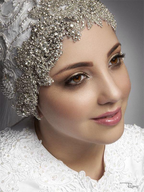 Swarovski, pearls and lace: My wedding turban