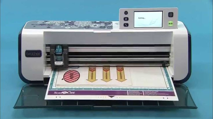 How to make printed stickers with lamination using scanncut · brother scanncut2vinyl