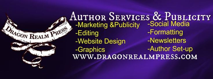 Dragon Realm Press is proud to announce Boot Camp for Self-Published Authors.  Choice of 3 classes! Pick and choose, or take them all!! *Act 1: Getting out of the gate, July 1st- August 5th *Act II: Advertising, Aug. 5th- Sept. 2nd  *Act III: Promotions and Development (NOW your published….now what?), Sept. 2nd- Oct. 7th  https://goo.gl/forms/3JdnVyD24On645f82 <<SIgn-up Here! For more information on Dragon Realm Press, visit our website at: www.dragonrealmpress.com