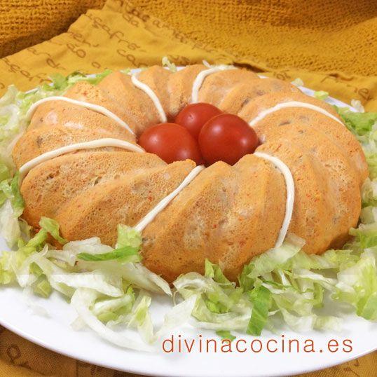 Pastel de salmón fácil » Divina CocinaRecetas fáciles, cocina andaluza y del mundo. » Divina Cocina