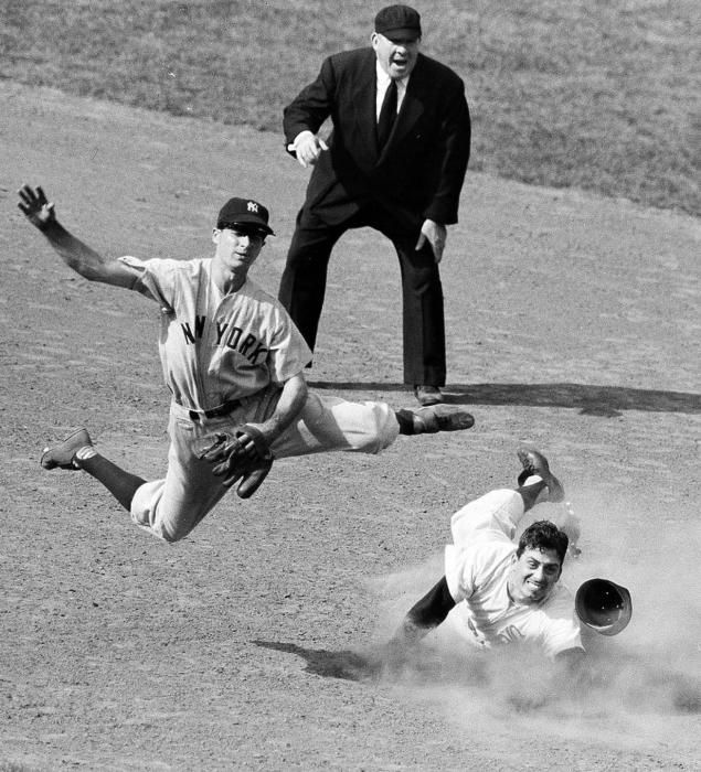 """""""The best second baseman I ever saw on the double play."""" - Casey Stengel on Jerry Coleman"""