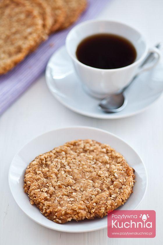 #Ciasteczka czy #ciastka Anzac biscuits owsiano-kokosowe, tradycyjne w #Australia.  http://pozytywnakuchnia.pl/anzac-biscuits/  #przepis