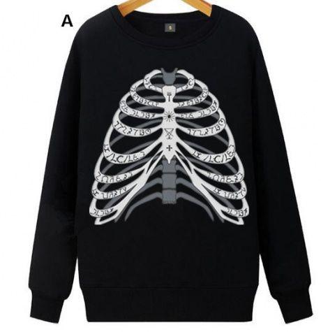 Supernatural sweatshirt for teens fleece pullover long sleeve