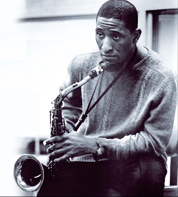 """My second wife [his sax] I don't sleep with it in bed. But I don't let it out of my sight."" - Sonny Rollins"