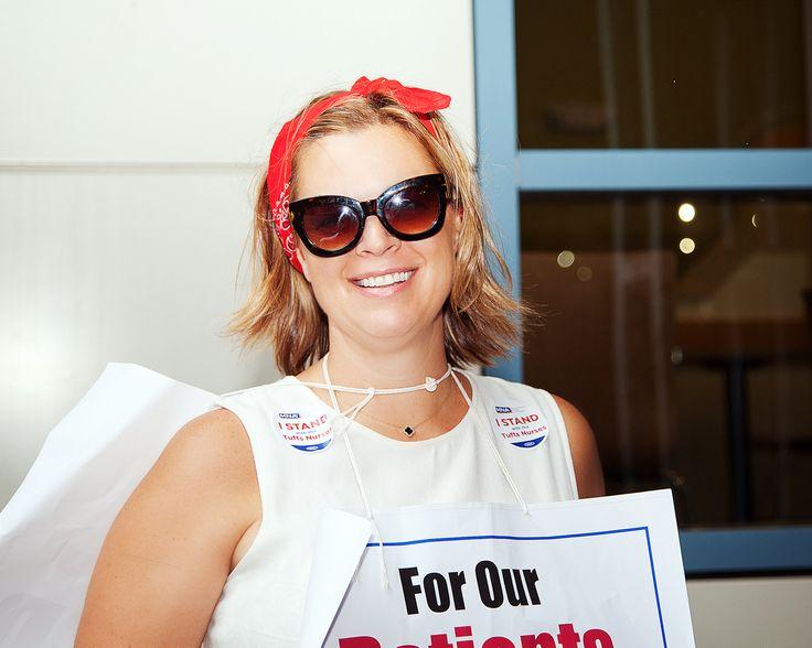 #Tufts, #Nurse, Boston MA Nurse Strike at Tufts Medical Center!