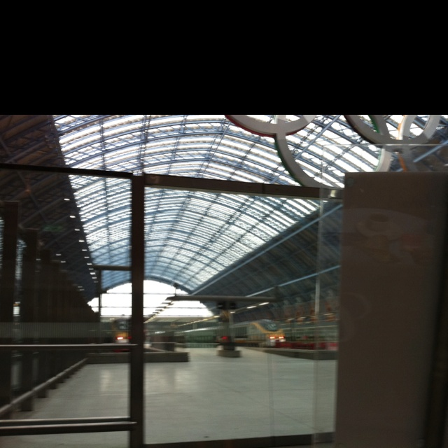 Olympic Rings at St.Pancras