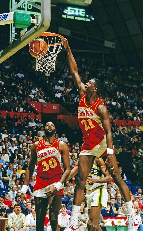 """Dominique Wilkins """"The Human Highlight Film"""", nine time NBA all-star and…"""