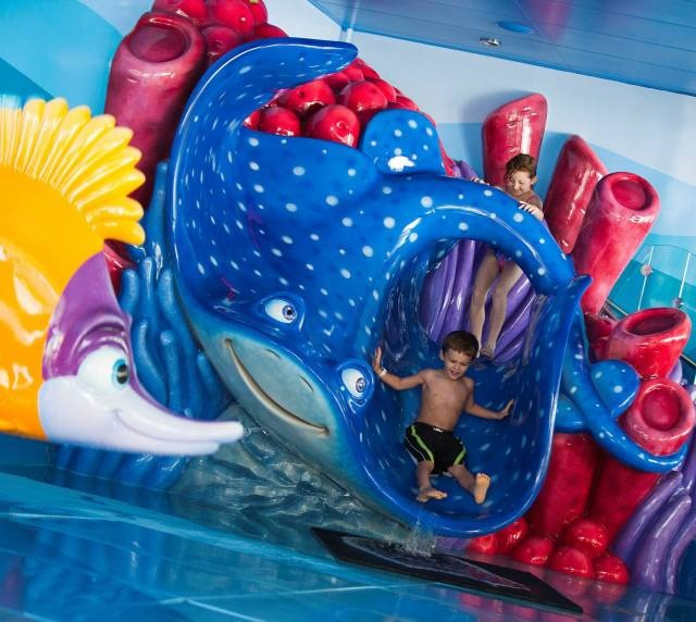A Water Slide At Disney S Newest Resort Art Of Animation