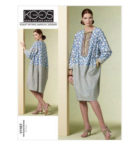 Misses' Dress  knee length designer caftan