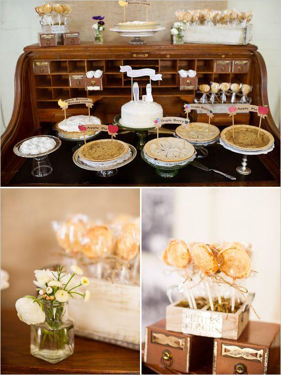 wedding dessert station    Photographer: http://www.kenkienow.com/  Event Designer: http://xoxobride.com/