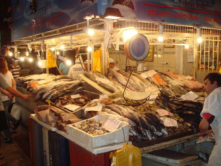 Santiago de Chile, Mercado Central