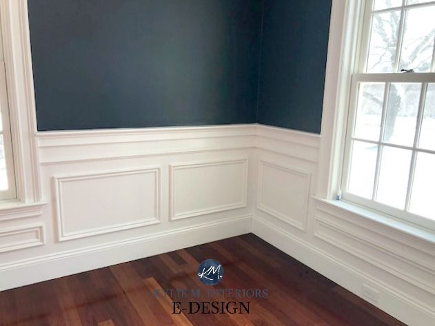 The Best Way To Paint A Wall With A Chair Rail Dado Rail Kylie M Interiors Dining Room Paint Colors Dining Room Wainscoting Dining Room Colors