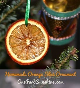 One Part Sunshine | Green Christmas Ornaments, Gifts and Activities | http://onepartsunshine.com