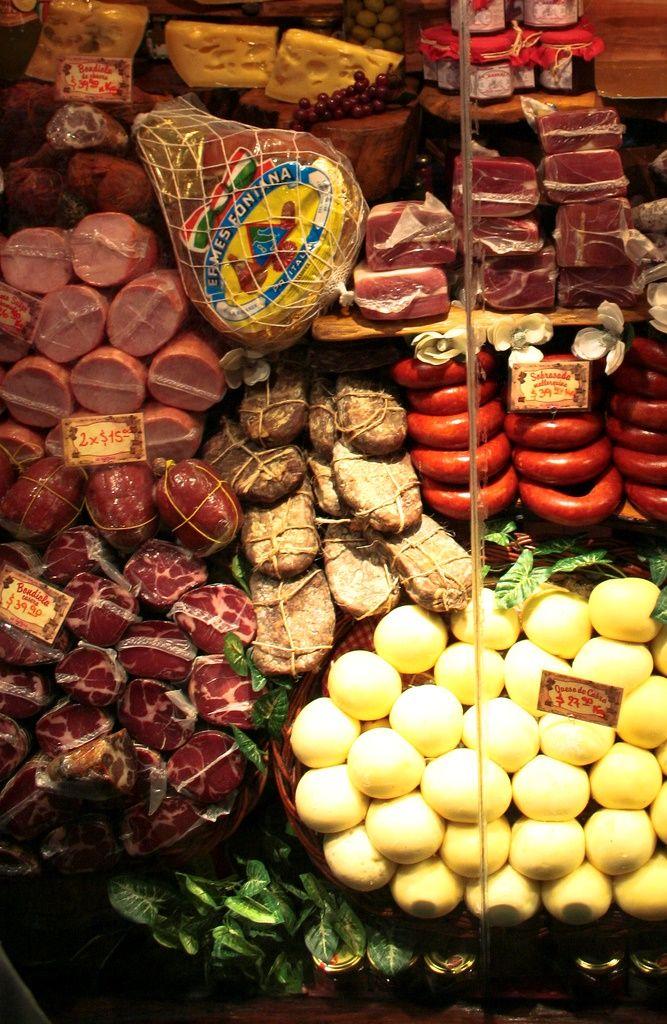 Cold meats (Fiambres) | Miramar | Buenos Aires | Argentina- I'm in heaven!