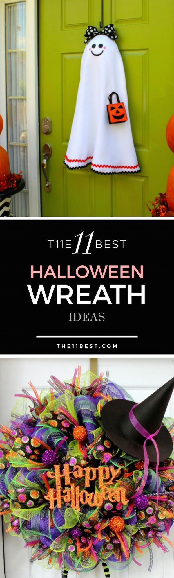 Halloween wreath ideas - love these DIY Crafts! Check out the tutorials, too!