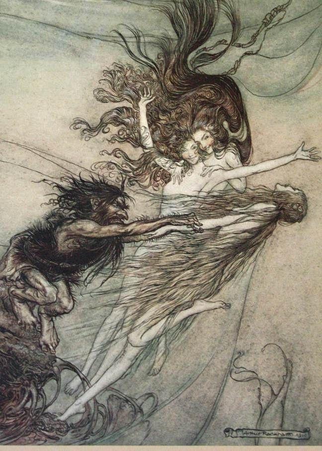 La Imaginación Dibujada: Arthur Rackham