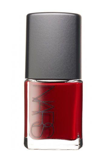 NARS oxblood nail polish
