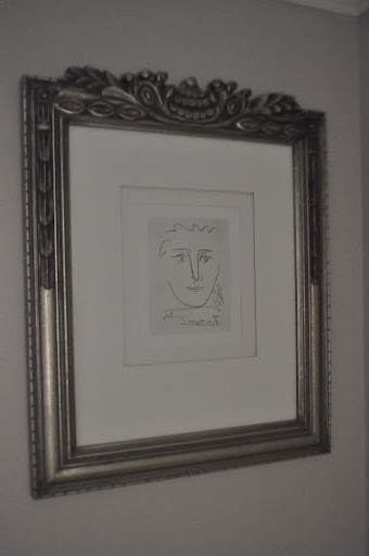 Picasso - Pour Roby etching from original plate
