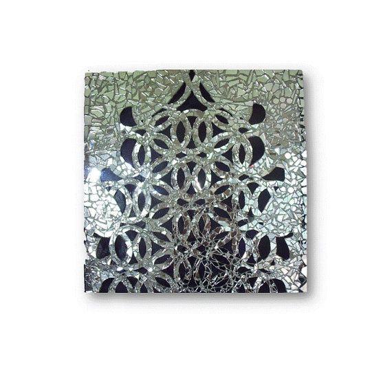 Mirror Mosaic Geometric Art Modern Decor by HayatGul on Etsy, $350.00