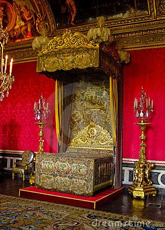 The King Louis XIV Bedchamber, Versailles, France - Download From Over 33 Million High Quality Stock Photos, Images, Vectors. Sign up for FREE today. Image: 8851113