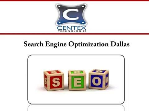 Centex Technologies provides comprehensive SEO services to the clients in Dallas, TX. The SEO process includes analysis, on page SEO and off page SEO. The company helps the websites improve their online visibility.  For more information about the search engine optimization services offered in Dallas, visit: http://www.centextech.com