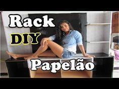 DIY: Penteadeira de Papelão-Meu quarto Meu Cantinho PARTE 02 - YouTube