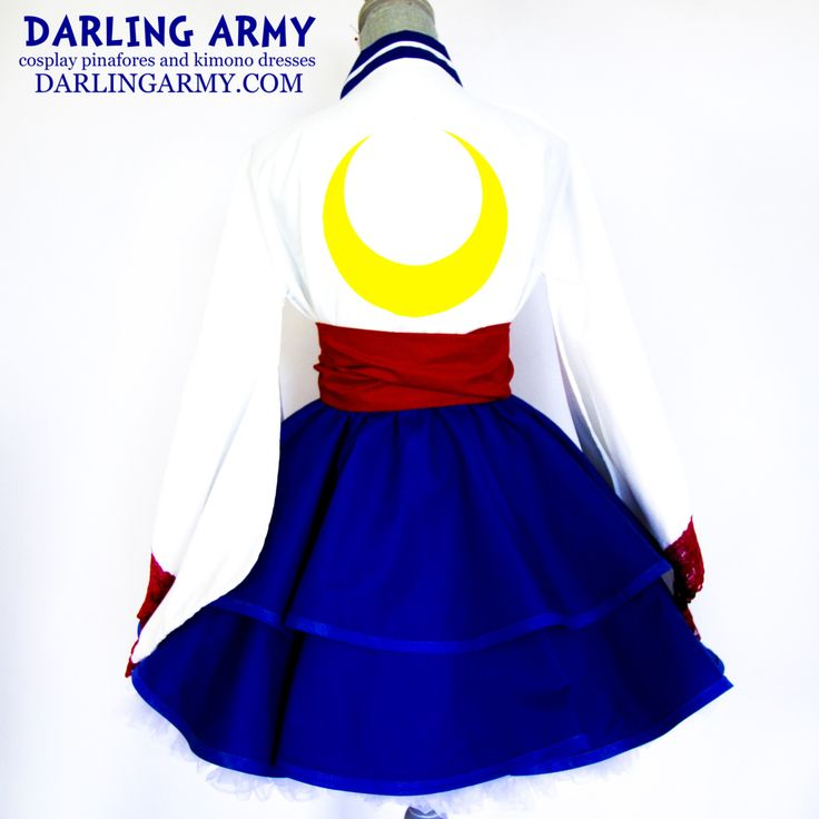 "darlingarmy: ""Sailor Moon Cosplay Kimono Dress by Darling Army"""