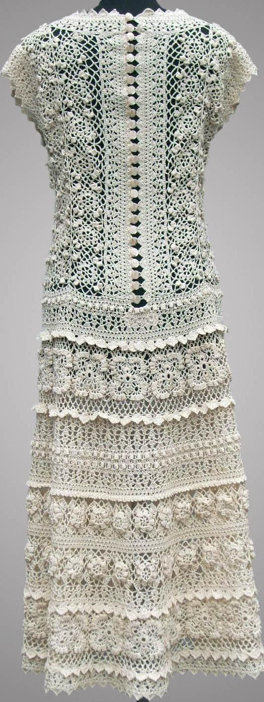 crochet dress on etsy.com by TsarevaCrochet