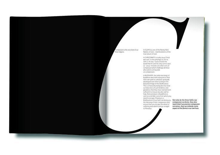 Large letter design