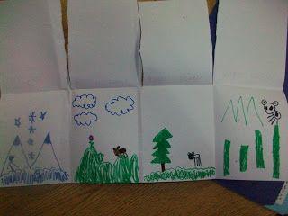 Alaska's Three Bears -  Habitats activity (Sarah's First Grade Snippets: February 2011)