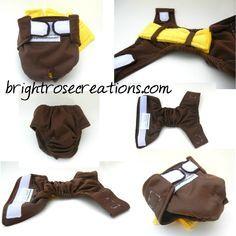 Patrón perro pañal, DIY, patrón de costura PDF, Hágalo usted mismo, cualquier tamaño, Juguete, Pequeño, raza gigante